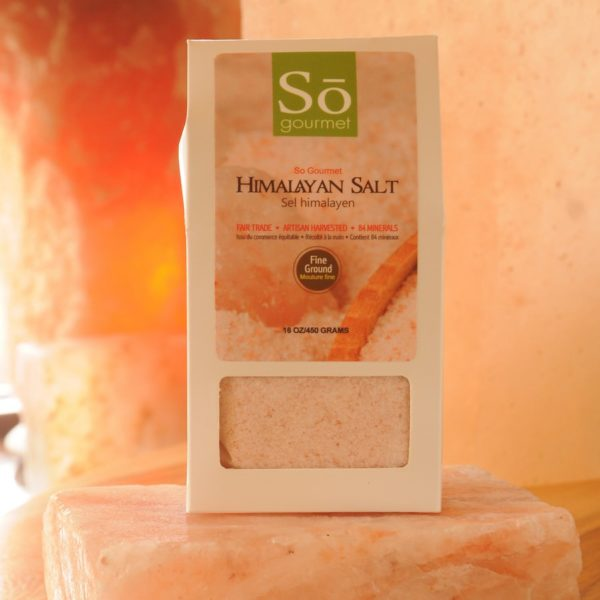 Fair Trade Pink Himalayan Salt Fine Grind